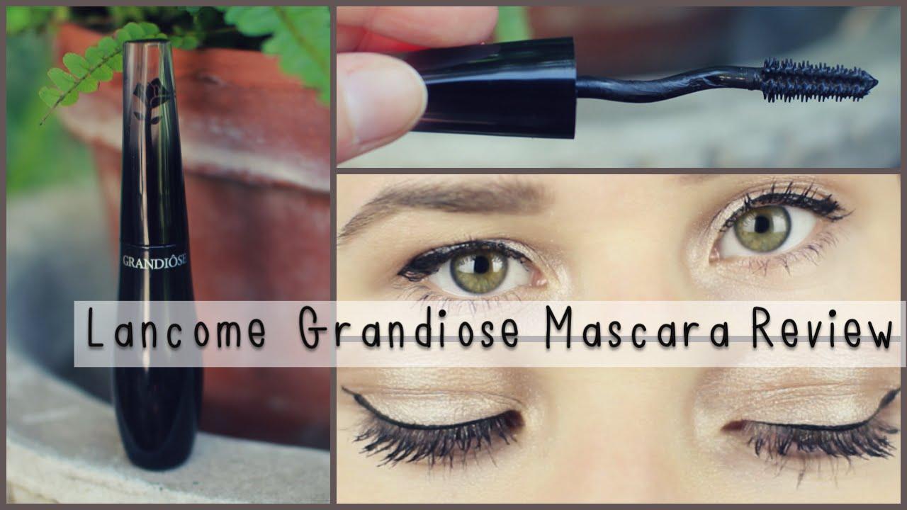 bfc5e710c5f Lancome Grandiose Mascara Review + Demo - YouTube
