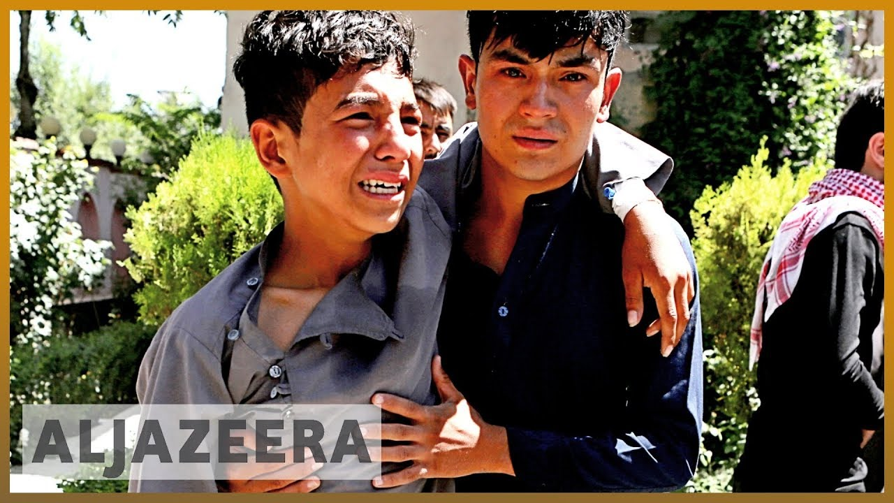 AlJazeera English:Analysis: Afghan president blames Taliban for Kabul bombing
