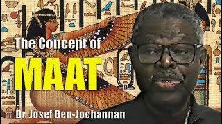 Dr. Josef Ben-Jochannan | The Concept of MAAT (18Apr93)