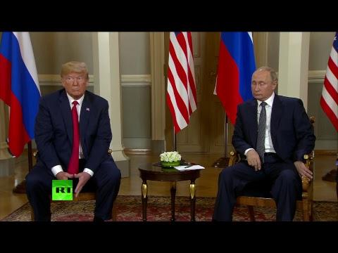 Путин и Трамп начинают...