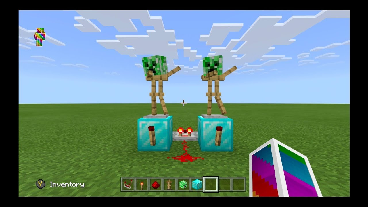 How to make dancing armor stands in Minecraft