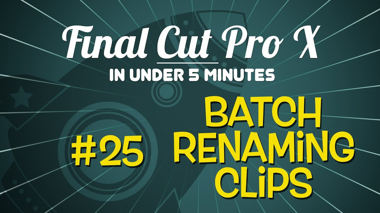 how to save a clip from final cut pro
