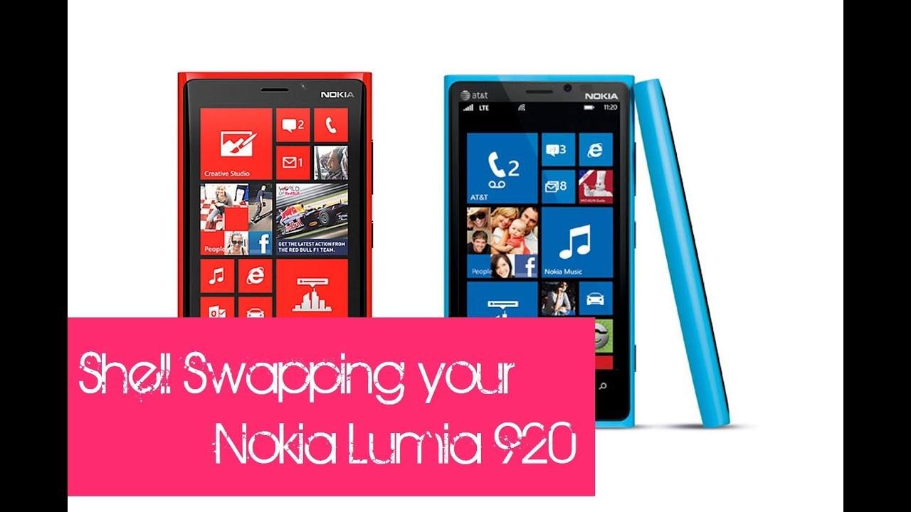Nokia Lumia 920 Shell Replacement