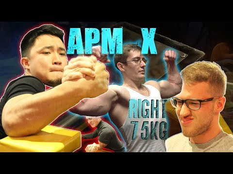 Armwrestling Senior Men 75 Kg Right Hand At MOSCOW APM Nights