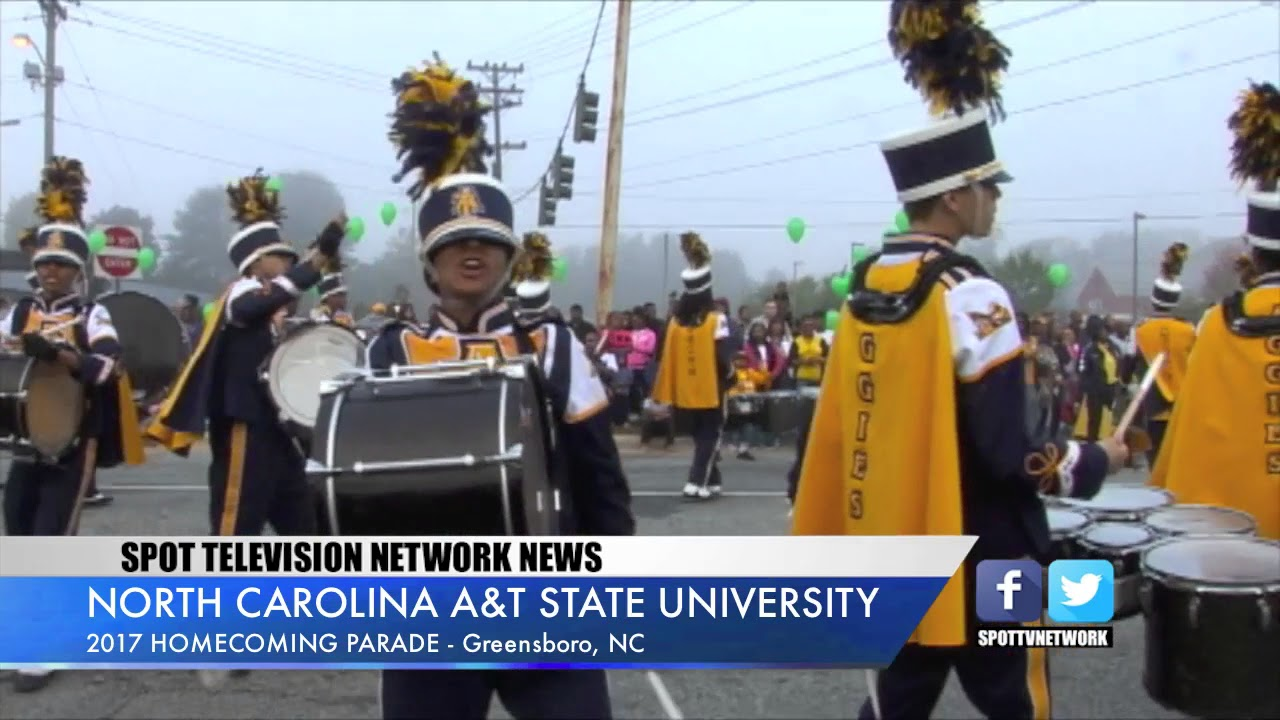 North carolina a and t state - North Carolina A T State University 2017 Homecoming Parade