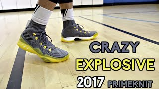 adidas crazy explosive 2017 low performance review