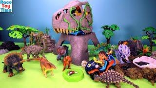 Dinosaur Rescue Mountain Playset - Fun Dinosaurs Toys For Kids