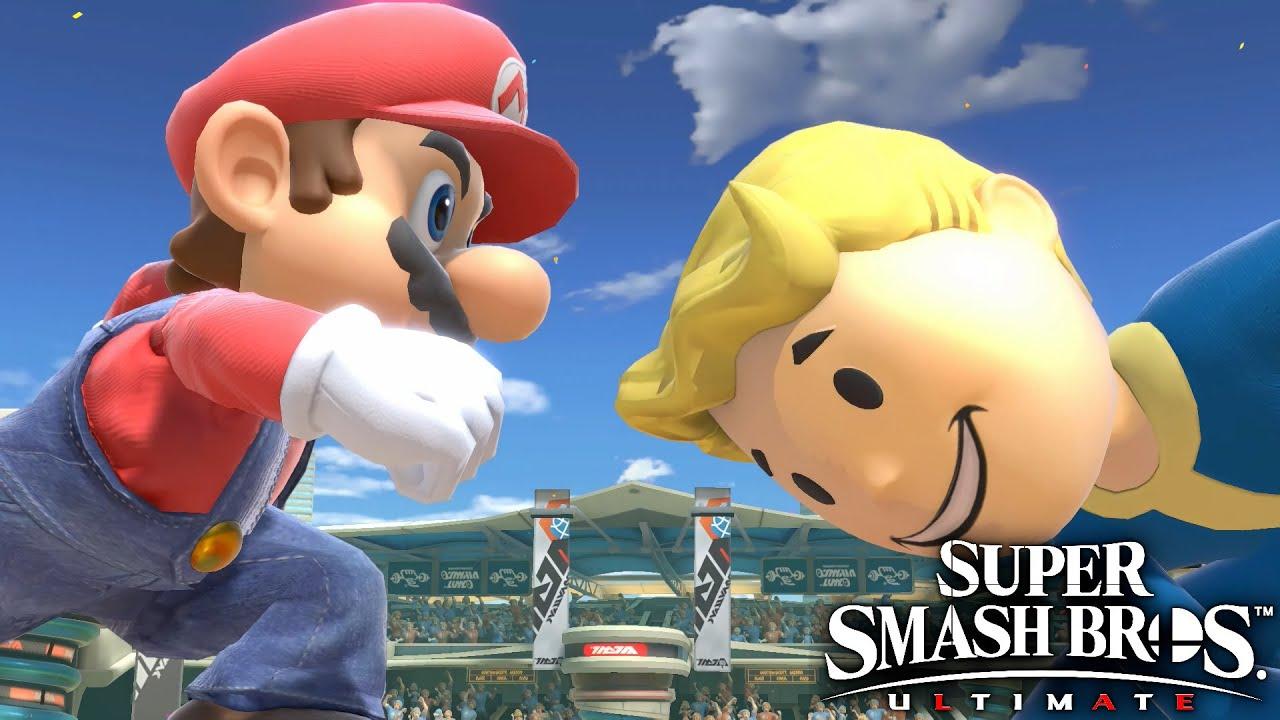 Super Smash Bros Ultimate - Mario vs Vault Boy #68