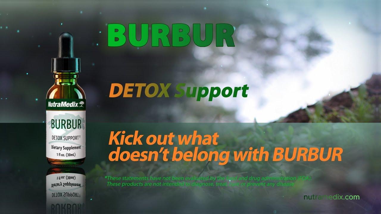 supliment de plante burbur detox