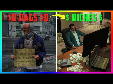 Rags To Riches In 5 Simple Steps! - Money Making Guide For SOLO Players In GTA Online!