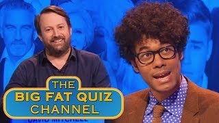 David Mitchell's Global Issues - Team Names | Big Fat Quiz of the Year 2014