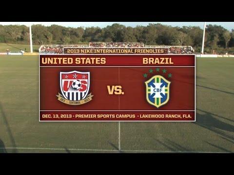 U-17 MNT vs. Brazil: Full Game - Dec. 13, 2013