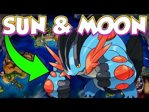 MEGA SWAMPERT ANNOUNCED FOR POKEMON SUN AND MOON!
