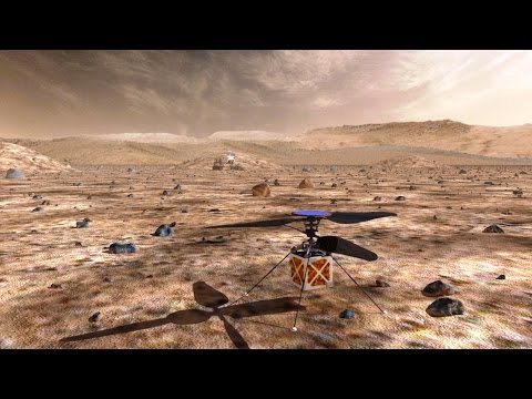 Mars Helicopter Crazy Engineering - Jet Propulsion Laboratory
