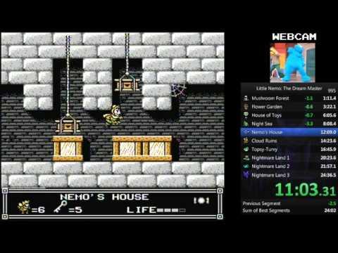 Little Nemo The Dream Master NES Speedrun in 24:30 by SonOfOrpheus