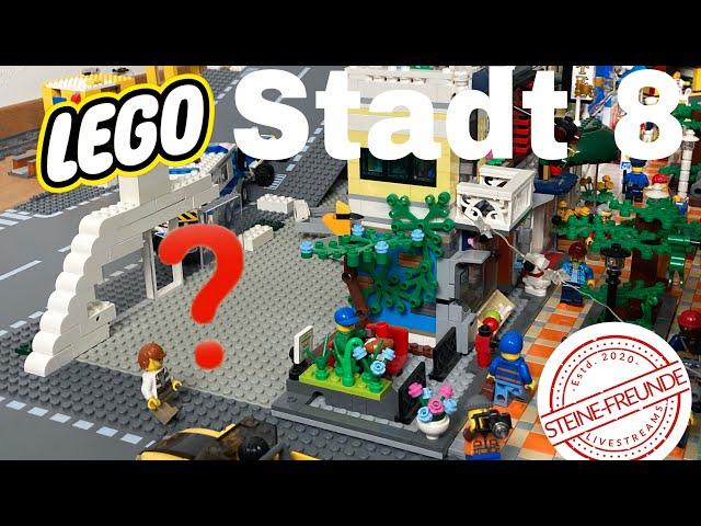 Lego Stadt Update 8/Die Fußgängerzone versetzen (2)