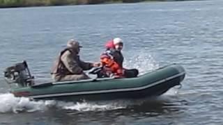 видео Надувная лодка ПВХ Тайга 340. Отзывы, цена, магазины
