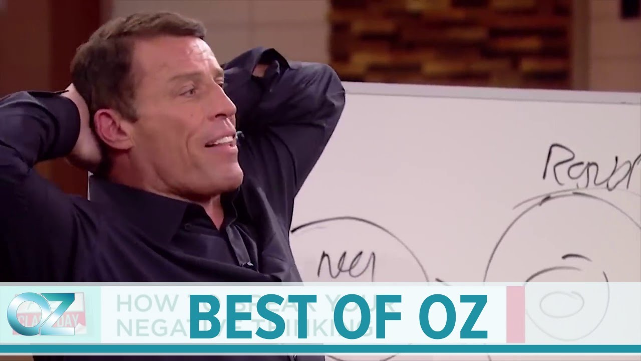Tony Robbins on How to Break Your Negative Thinking