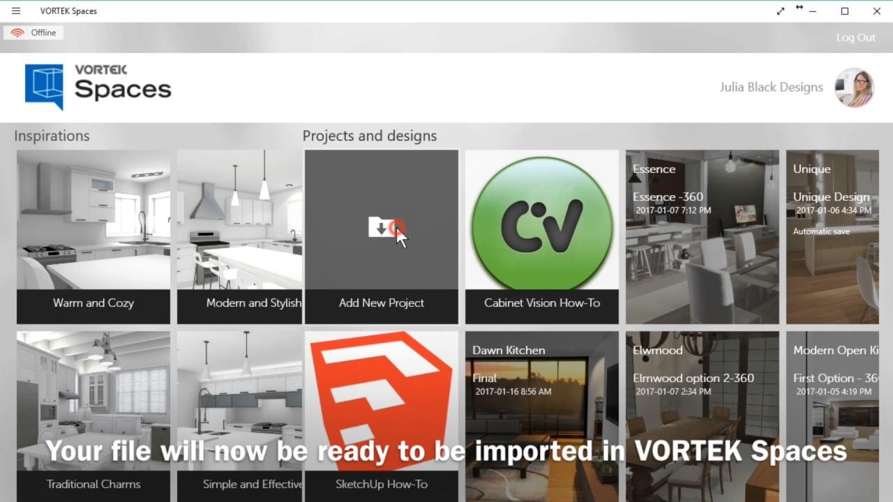 VORTEK Spaces | 3D Interactive Virtual Showroom