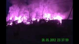 Пожар в Парголово (Санкт-Петербург)  28 мая 2012.AVI(Масштабный пожар в Парголово, в пригороде Питера, горят погреба и гаражи местных жителей. 28 мая 2012 года., 2012-05-28T20:46:20.000Z)