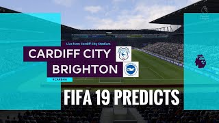 Cardiff city vs Brighton premier league prediction matchweek 12