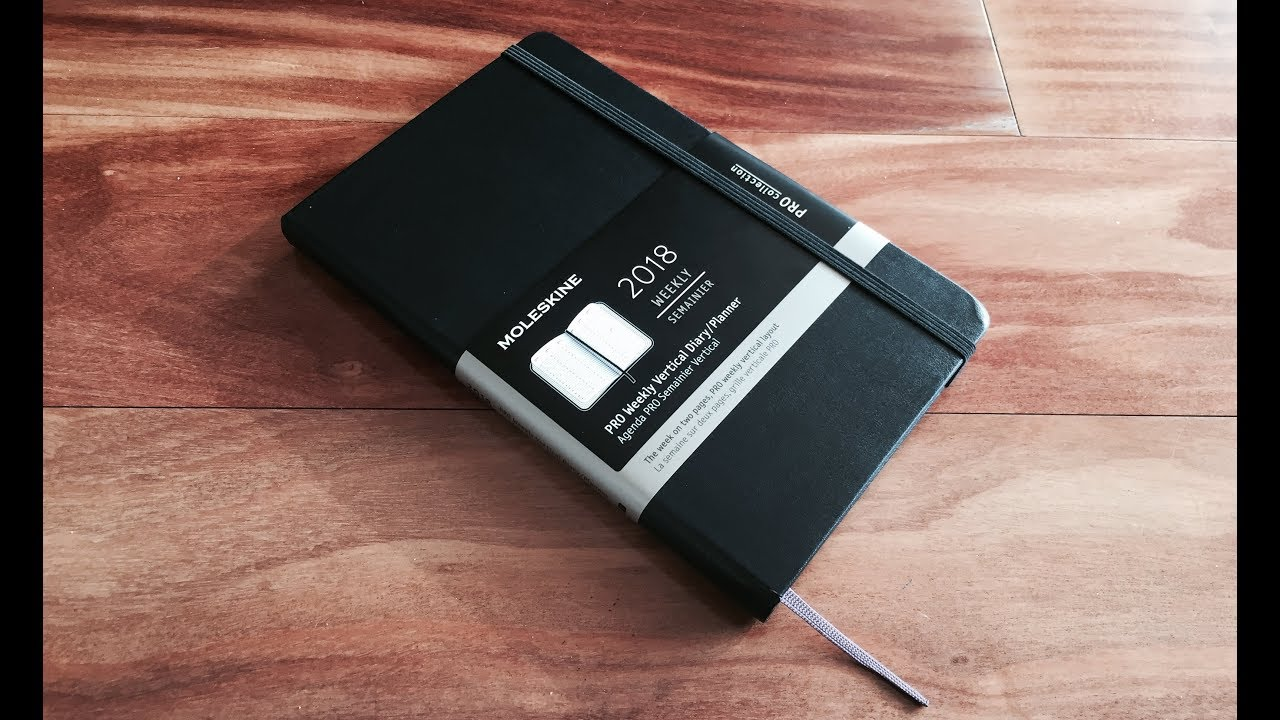 Moleskine Pro Planner Review Youtube