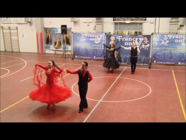 15° spettacolo ASD  Francy Only Dance - Esibizione ballo liscio 'Mazurca - Valzer Viennese - Polca'
