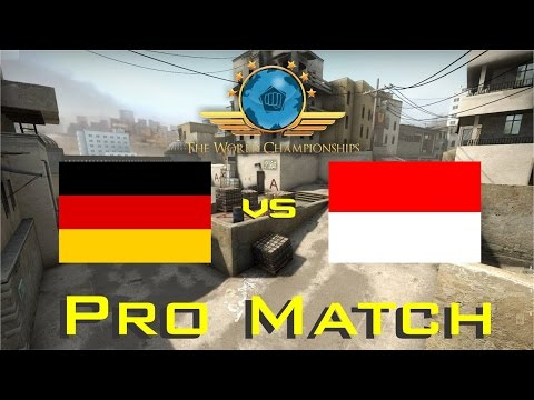 CS:GO World Championship - Germany vs Indonesia (No Comeback!!!)