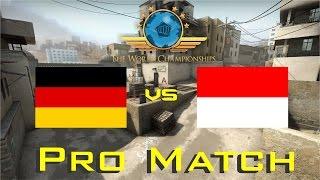 CS:GO World Championship - Germany vs Indonesia (No Comeback!!!)