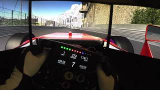 F1 Monaco GP 2016 - Simulator Onboard Lap