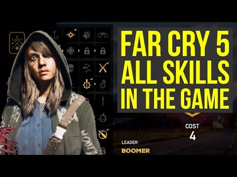 Far Cry 5 Gameplay - All Skills IN DEPTH LOOK & EXPLAINED (Farcry 5 perks - Farcry5 perks)