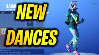 ALL *NEW* SKINS & DANCE/EMOTES SEASON 6! Fortnite Battle Royale