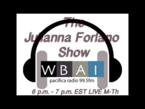 Introducing The Julianna Forlano Show WBAI 99.5 FM in New York City!
