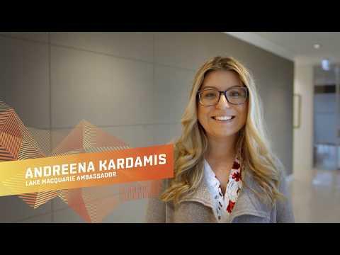 Meet Andreena Kardamis, Lake Mac Ambassador