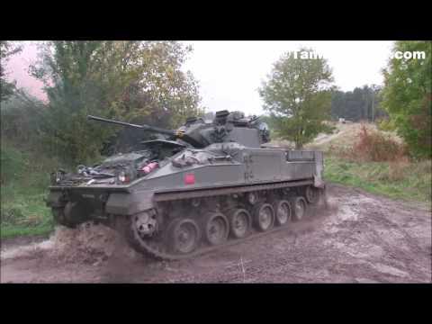 Dozens of Challenger 2 Tanks & Warrior IFV Storm a Compound - British Army 2017