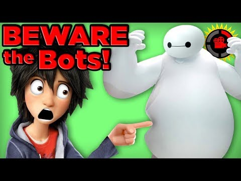 Film Theory: Controlling Robots with YOUR MIND! (Disney's Big Hero 6)