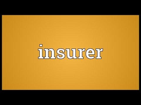 Header of insurer