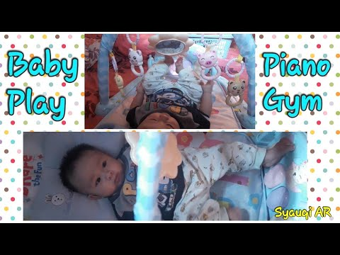 Mainan Lucu Untuk BAYI, Baby Play Piano Gym -Baby Playgym (Unboxing)