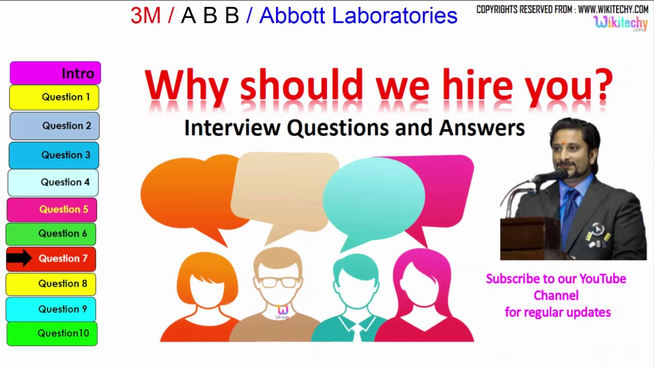 3m | Abb | Abbott Laboratoriestop Most Interview Questions And Answers    YouTube