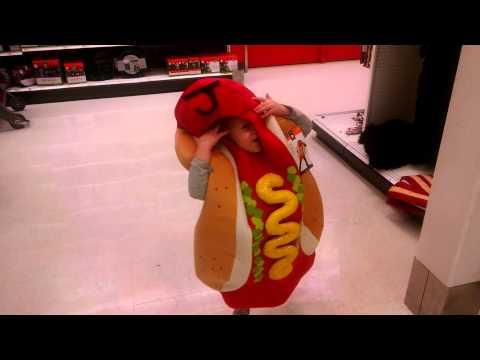 Dancing Hot Dog Girl
