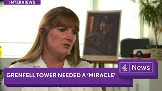 Only a 'miracle' could have saved Grenfell: London fire commissioner (extended interview)