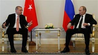 Erdogan and Putin Patch Up Turkish-Russian Relations