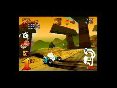 Crash Team Racing Part 2 - Fatty Boom Boom!