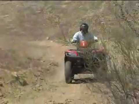 ATV Television Test  2007 Suzuki King Quad 450