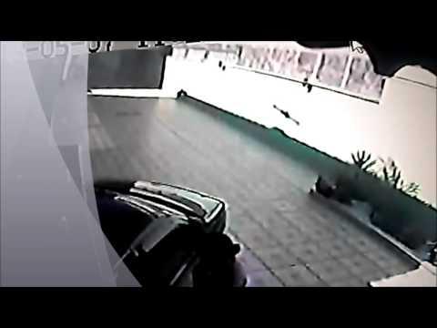 mulher é arrastada por veiculo sena forte