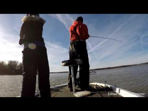 New Years Eve Fishing! Thomas Hill Lake