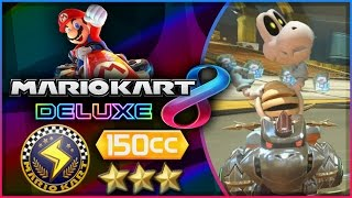 Mario Kart 8 Deluxe - Part 8   Lightning Cup 150cc Triple-Star! [Nintendo Switch Gameplay]