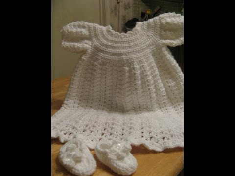 #CrochetChristeningGown -   Video 1