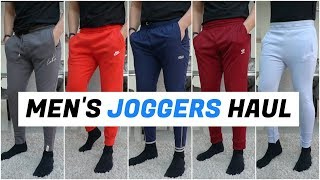 Gambar cover Huge Men's JOGGERS Try-On Haul (Nike, Adidas, The Couture Club)