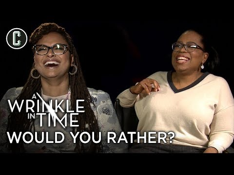 Oprah Plays Would You Rather and Sneezes On Cue Like a Pro